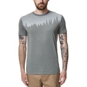 tentree Juniper T-shirt Heren, agave green heather